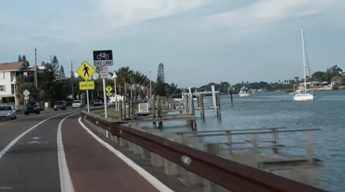 st pete florida bicycle route