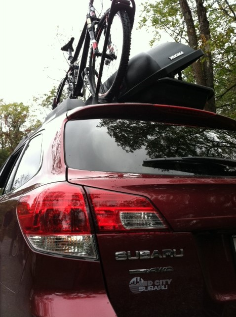 roof bicycle rack