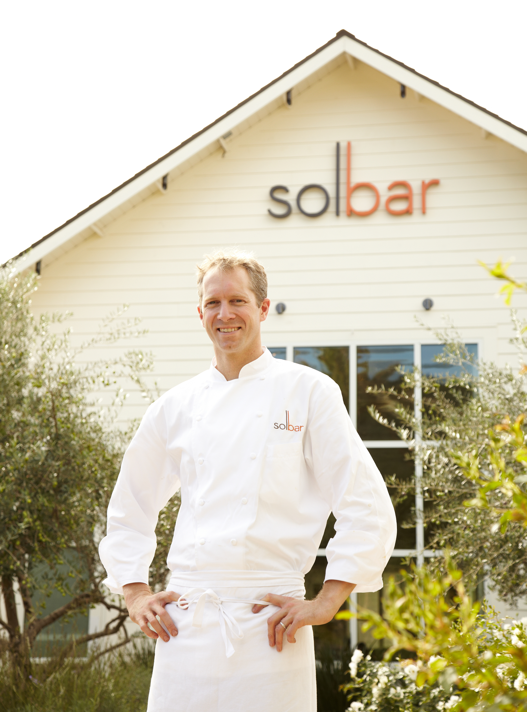 Chef brandon Sharp of solbar napa ca